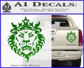 Lebron James Lion Logo Decal Sticker Green Vinyl 120x97