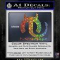 Mopar Devil V3 Decal Sticker Sparkle Glitter Vinyl Sparkle Glitter 120x120