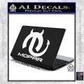 Mopar Devil V3 Decal Sticker White Vinyl Laptop 120x120