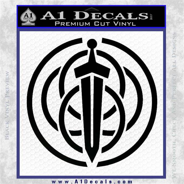 Pixar Brave Clan Dunbroch Flag Viking Decal Sticker » A1 Decals