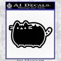 Pusheen Decal Sticker Cat Kitty Cute Normal D2 Black Vinyl Logo Emblem 120x120