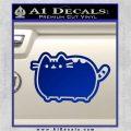 Pusheen Decal Sticker Cat Kitty Cute Normal D2 Blue Vinyl 120x120