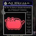 Pusheen Decal Sticker Cat Kitty Cute Normal D2 Pink Vinyl Emblem 120x120