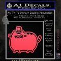 Pusheen Decal Sticker Cat Kitty Fancy Pants D2 Pink Vinyl Emblem 120x120