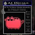 Pusheen Decal Sticker Cat Kitty Sunglasses Walk D2 Pink Vinyl Emblem 120x120