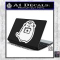 Pusheen Doctor Nurse D2 Decal Sticker White Vinyl Laptop 120x120