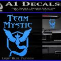 Team Mystic Full Decal Sticker Pokemon Go Light Blue Vinyl 120x120