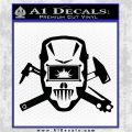 Welding Decal Sticker D4 Black Vinyl Logo Emblem 120x120