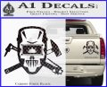 Welding Decal Sticker D4 Carbon Fiber Black 120x97