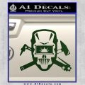 Welding Decal Sticker D4 Dark Green Vinyl 120x120