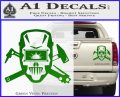 Welding Decal Sticker D4 Green Vinyl 120x97