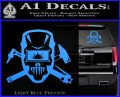 Welding Decal Sticker D4 Light Blue Vinyl 120x97