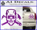 Welding Decal Sticker D4 Purple Vinyl 120x97