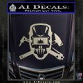 Welding Decal Sticker D4 Silver Vinyl 120x120