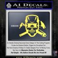 Welding Decal Sticker D4 Yellow Vinyl 120x120
